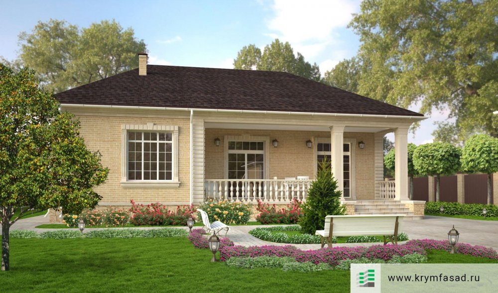 Проект дома с.Уютное (термопанели, дизайн, фасадный декор)