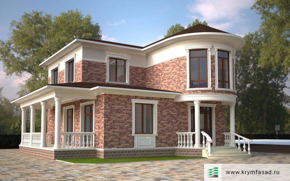 Проект частного дома г. Евпатория